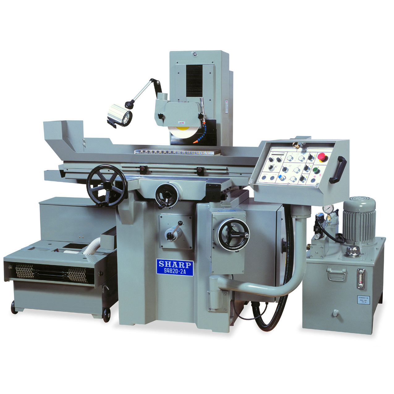 "NEW 6"" x 18"" SHARP SG-618-2A AUTOMATIC SURFACE GRINDER"