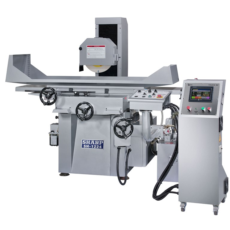 "NEW 12"" x 24"" SHARP SH-1224 AUTOMATIC SURFACE GRINDER"