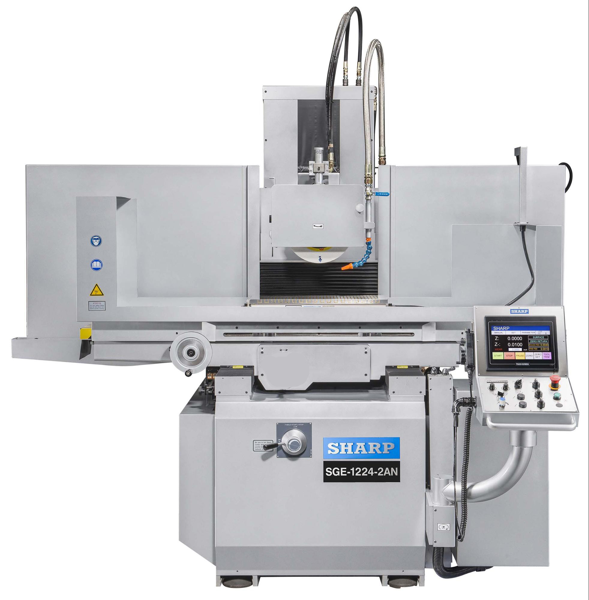 "NEW 12"" x 28"" SHARP SGE-1228-2NA 2-AXIS NC SURFACE GRINDER"