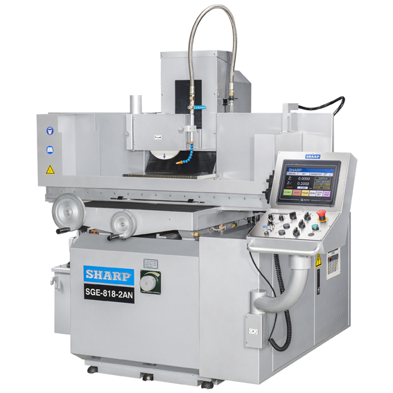 "NEW 8"" x 18"" SHARP SGE-818-2NA 2-AXIS NC SURFACE GRINDER"