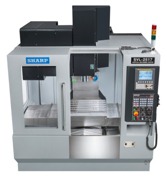 NEW SHARP SVL-2517SZ-F LINEAR WAY CNC VERTICAL MACHINING CENTER