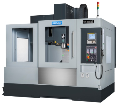 NEW SHARP SVL-4023SX-F LINEAR WAY CNC VERTICAL MACHINING CENTER
