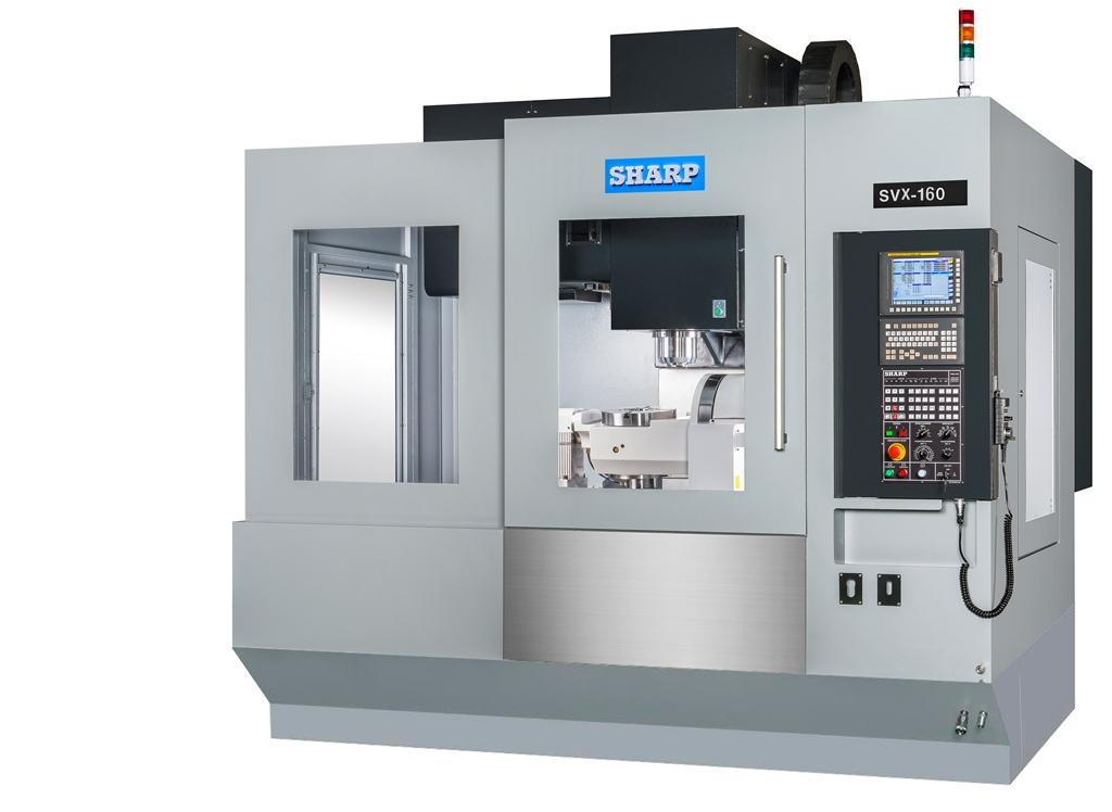 NEW SHARP SVX-160 5-AXIS CNC VERTICAL MACHINING CENTER