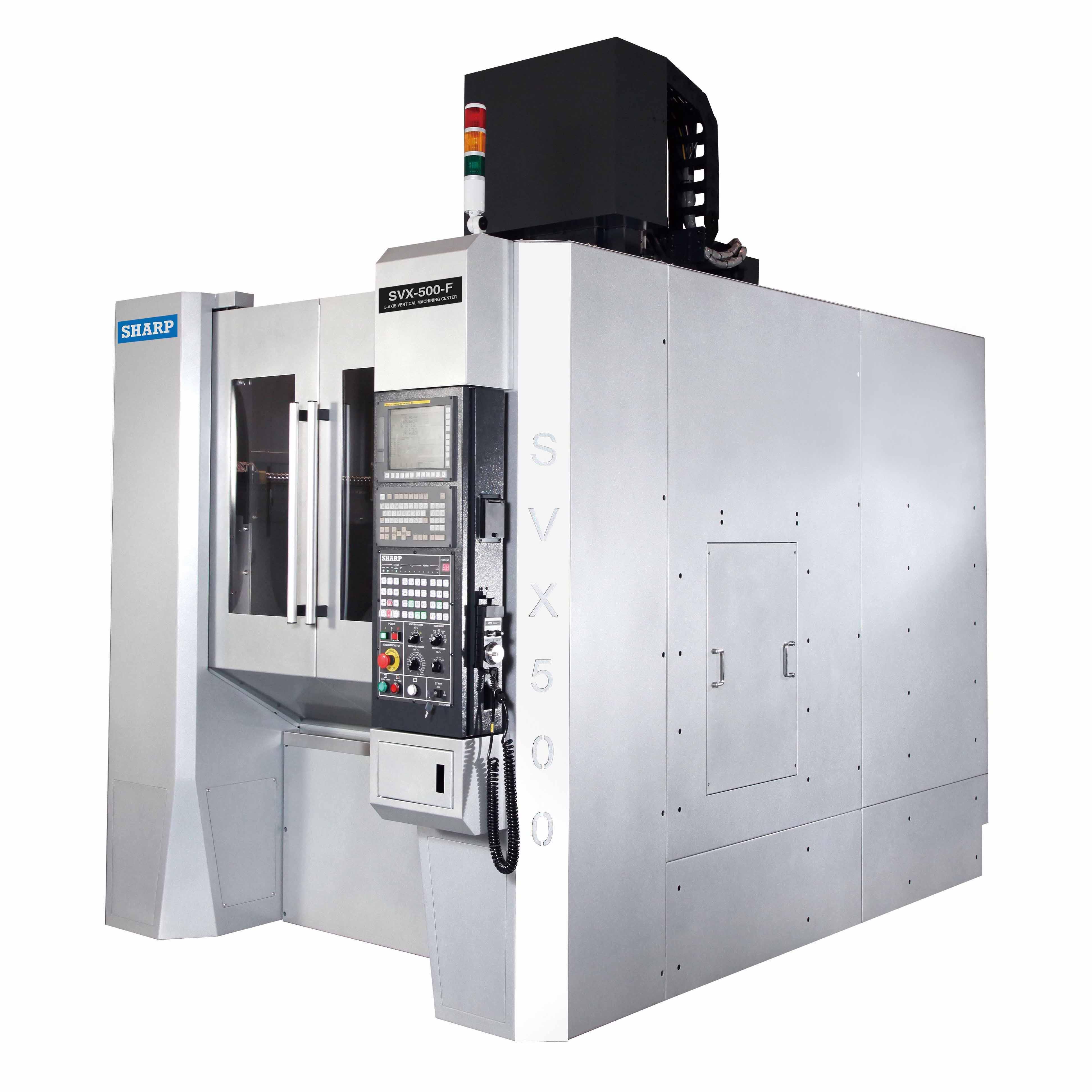 NEW SHARP SVX-500 5-AXIS CNC VERTICAL MACHINING CENTER