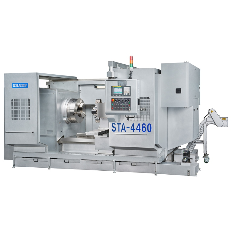 NEW SHARP STA-44 CNC BIG BORE LATHE
