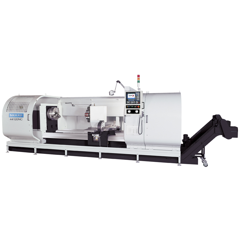 NEW SHARP STC-60 CNC BIG BORE LATHE