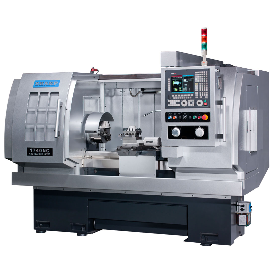 NEW SHARP 1740NC PRECISION CNC LATHE