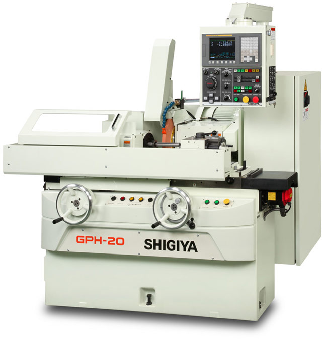 NEW SHIGIYA GPH-20-50 CNC CYLINDRICAL GRINDER WITH HANDWHEELS