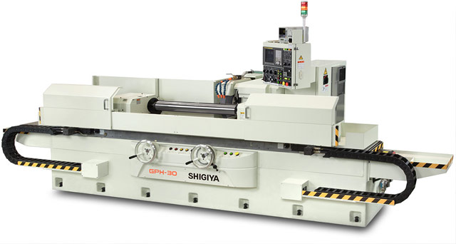 NEW SHIGIYA GPH-40 CYLINDRICAL GRINDER WITH HANDWHEELS