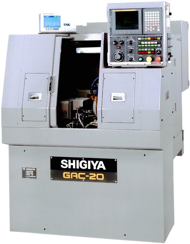 NEW SHIGIYA GAC-20 COMPACT CNC ANGULAR CYLINDRICAL GRINDER