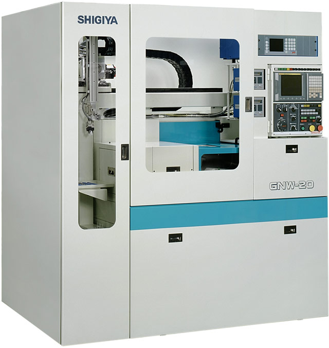 NEW SHIGIYA GNW-20 2-HEAD CNC CYLINDRICAL GRINDER