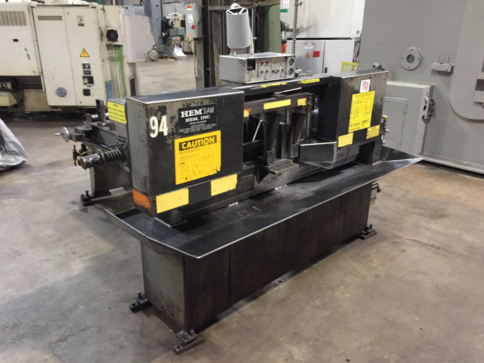 "12.75"" x 12.75"" HEM H-90A-B/F AUTOMATIC HORIZONTAL BAND SAW"