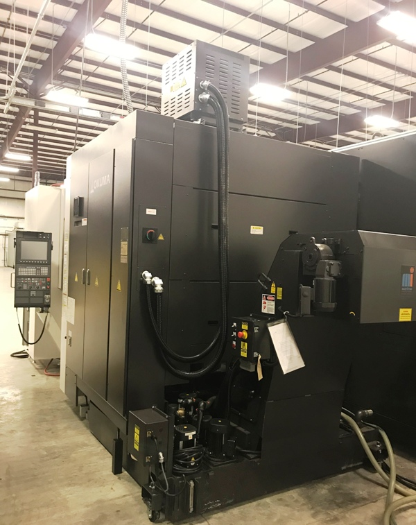 OKUMA MB-5000H 4-AXIS HIGH SPEED, THERMALLY-STABLE HORIZONTAL MACHINING CENTER