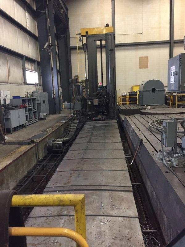 "6"" CARLTON MODEL 6HDB HEAVY DUTY CNC FLOOR TYPE HORIZONTAL BORING MILL"