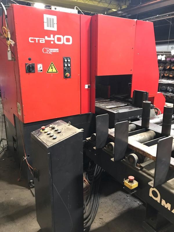 "16.9"" AMADA CTB400 CNC VERTICAL CARBIDE BAND SAW"