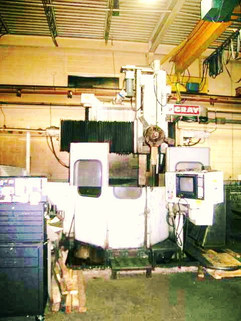 "48"" GRAY RINGMASTER CNC VERTICAL TURRET LATHE WITH 5-POSITION TURRET"