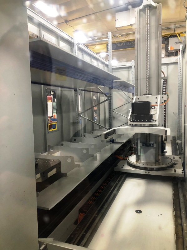 GROB G550 5-AXIS UNIVERSAL MACHINING CENTER