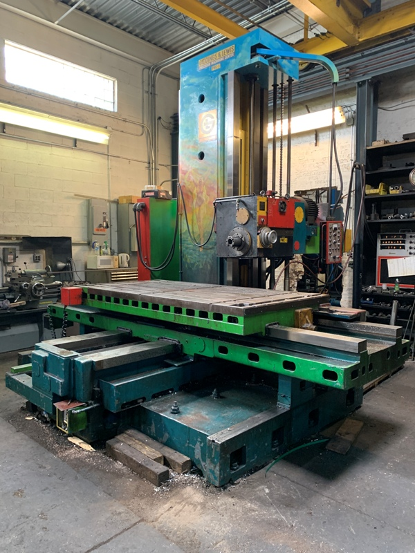 "5"" GIDDINGS & LEWIS PMC 5 HORIZONTAL BORING MILL"