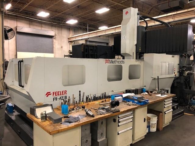 Feeler FV-4218 Bridge Type CNC Vertical Machining Center New-2013