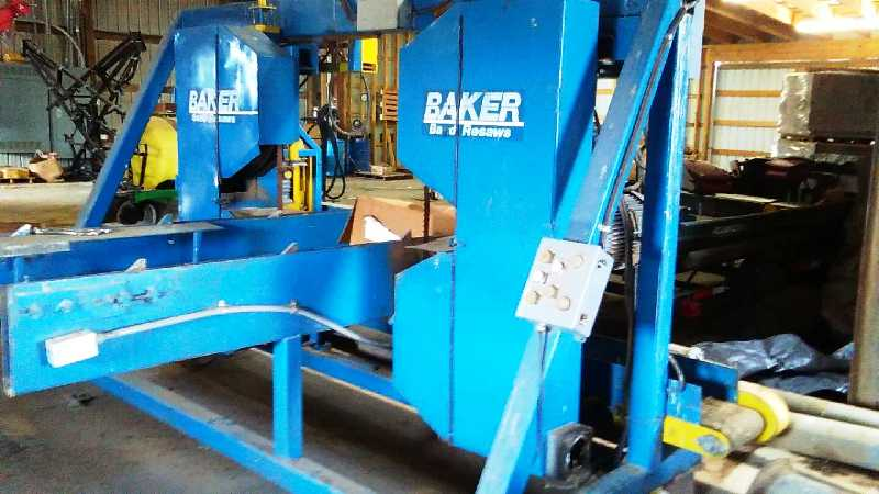 BAKER MODEL BBDET-0 DOUBLE END TRIM SAW