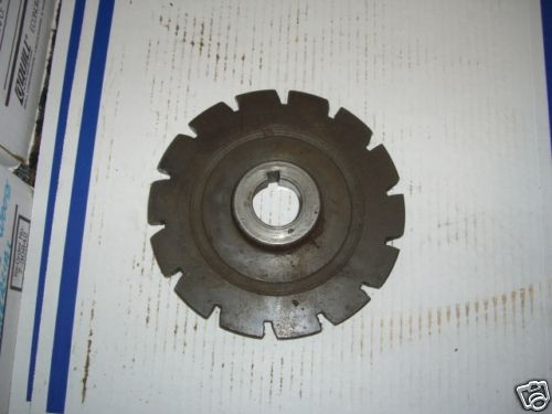 #14 INDEX PLATE FOR A BARBER COLMAN 6-5 HOB SHARPENER
