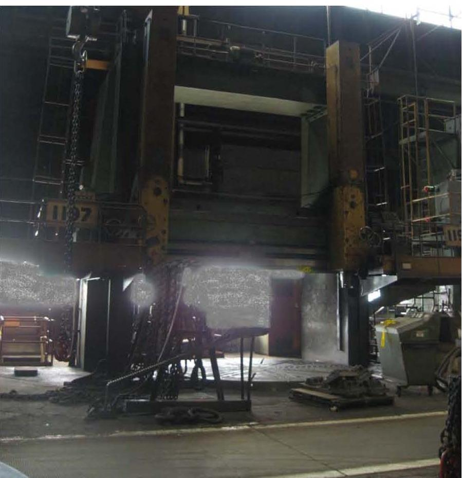 16' MORANDO MODEL KS42/50 VERTICAL BORING MILL