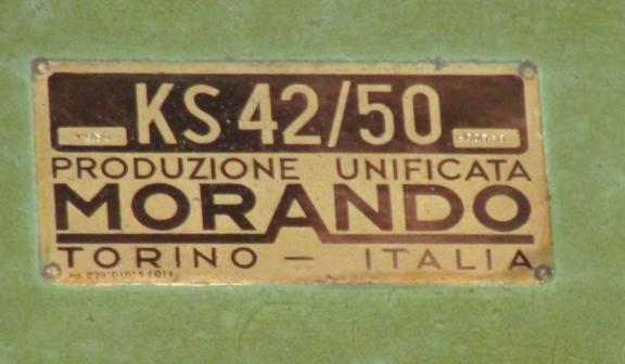 16' MORANDO MODEL KS42/50 VERTICAL BORING MILL