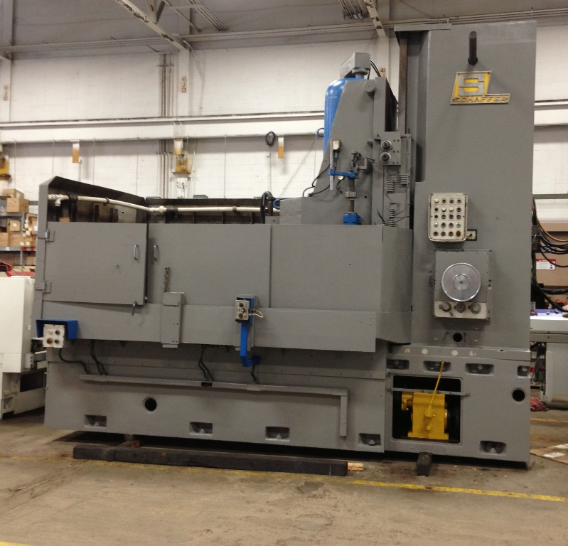 "66"" SCHAFFER TYPE RPVR66 VERTICAL SPINDLE ROTARY SURFACE GRINDER"