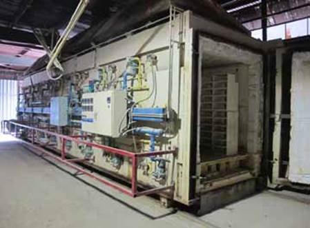 RECCO DIRECT GAS FIRED TRAVELLING ENVELOPE KILN