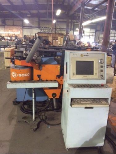 "3"" SOCCO MODEL SB-75X4B-1S CNC TUBE BENDING MACHINE"