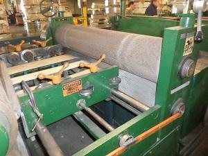 """52"""" CORRUGATING/EMBOSSING CUT TO LENGTH LINE W/ HOLE PUNCHING   Our stock number: 113977"""