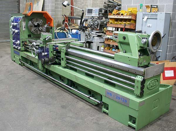 "29"" X 120"" KINGSTON LATHE, Model HB29, 29"" Swing, 18"" Front Chuck and 20"" Rear Chuck, 6"" Thru Hole, Inch/Metric Threading, Steady Rest, New 2008."