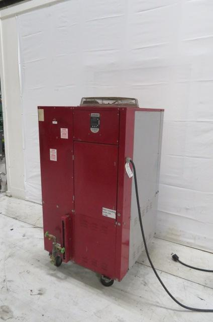 Wittmann Battenfield Used 08U-074 Air Cooled Portable Chiller, 3 US ton, 460V
