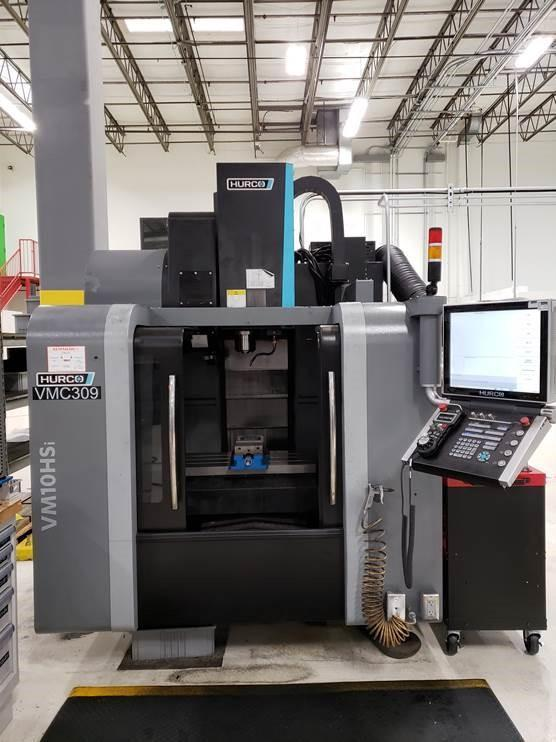 Hurco VM10HSi CNC Vertical Machining Center, MAX5 Control, Graphite Package, 20K Spindle, 26