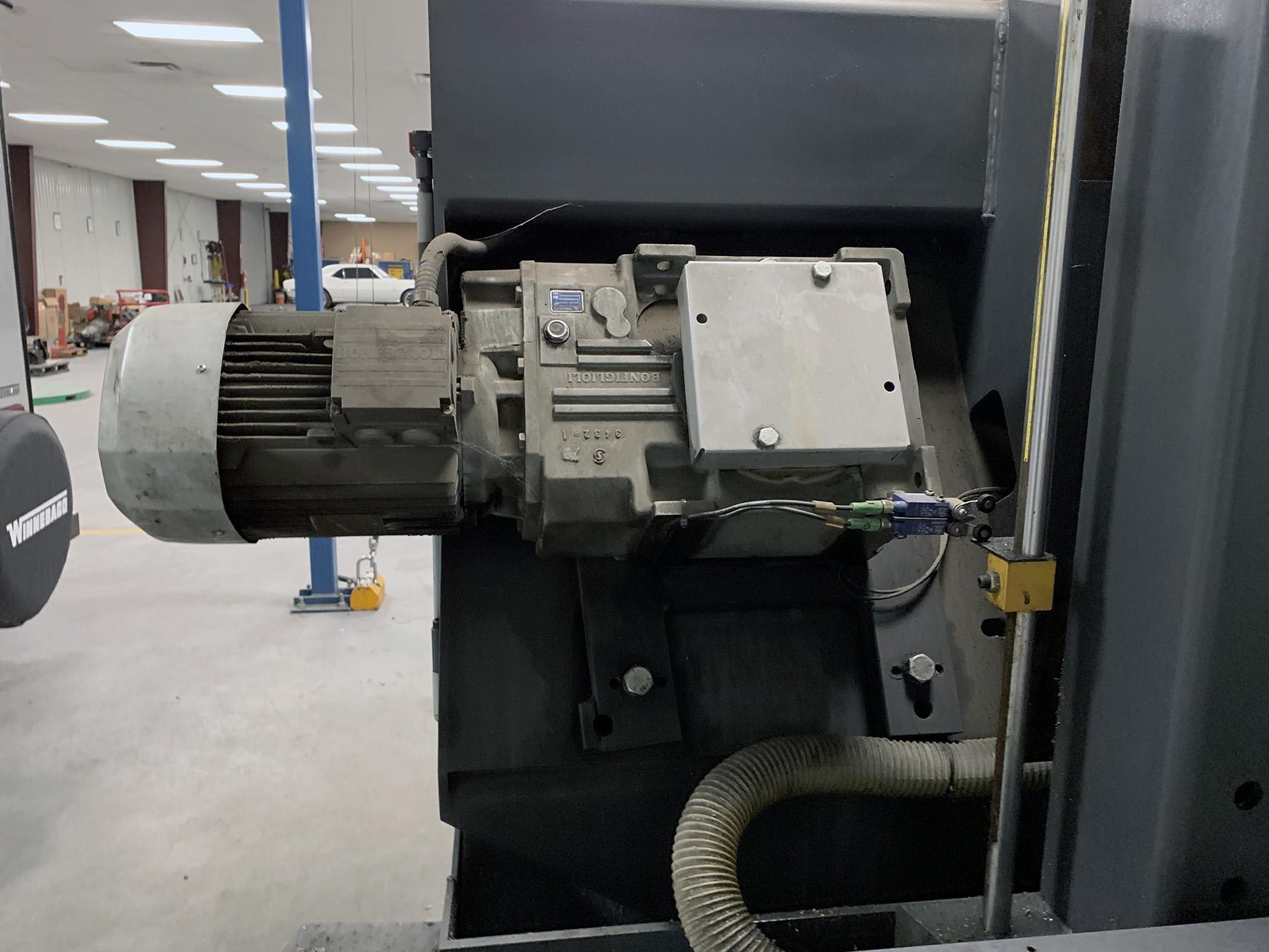 USED, HYD-MECH H-22A PROGRAMMABLE AUTOMATIC HORIZONTAL BANDSAW