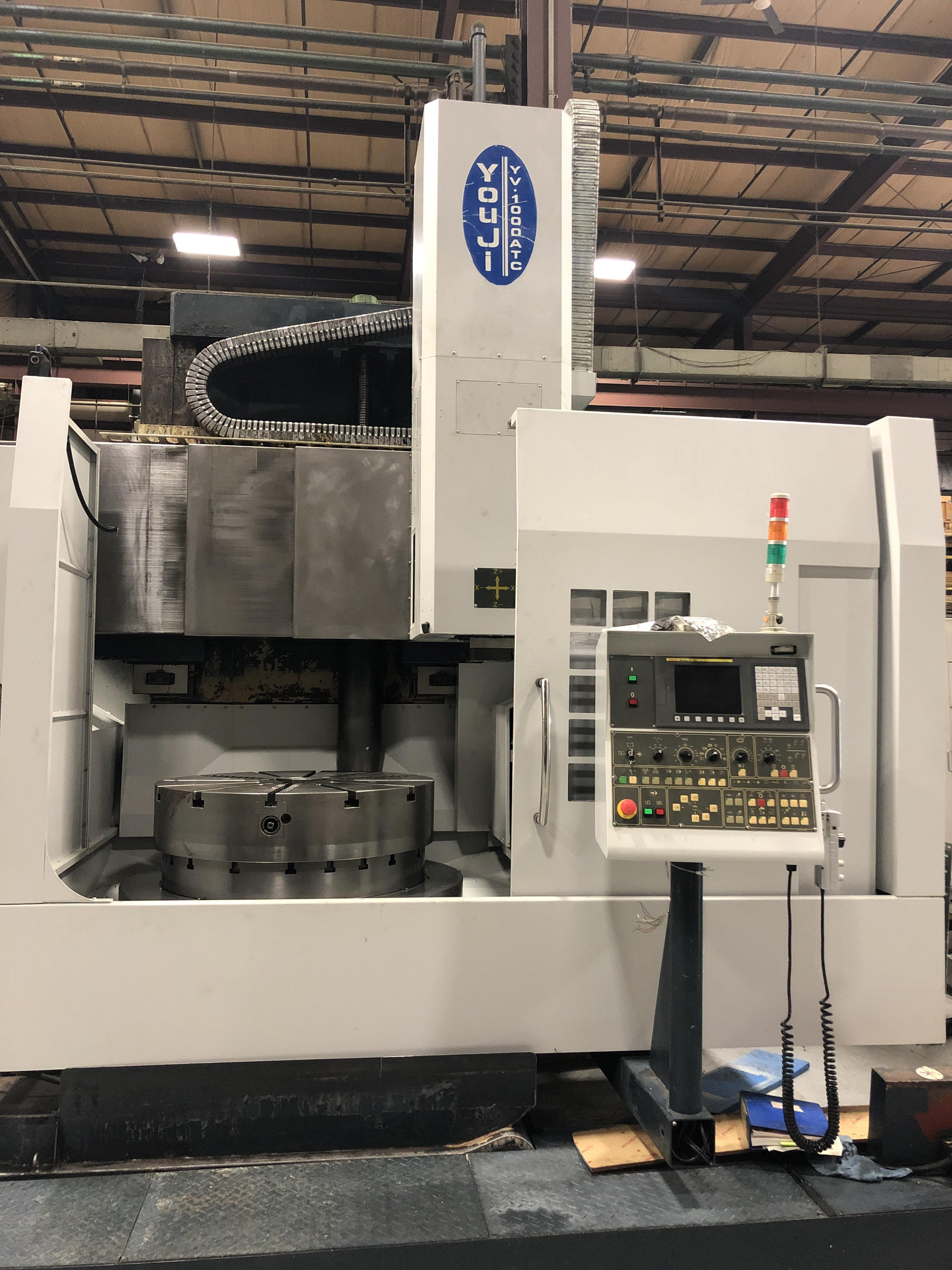 2006 YOU JI YV-1000 ATC - CNC Vertical Lathe