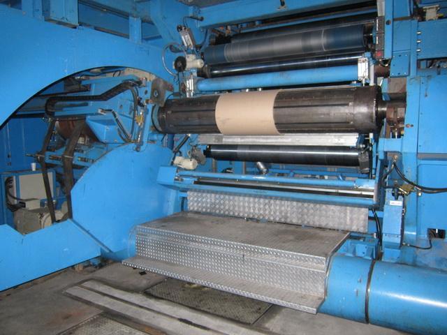 "70"" x .015"" Kampf Precision Foil Aluminum Slitting Line (2001)"