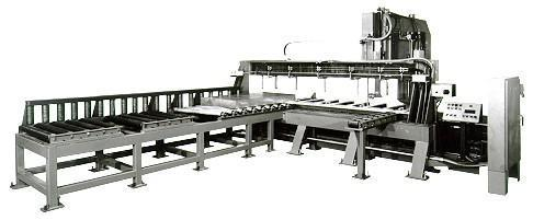 TANNEWITZ MODEL 6024MH VERTICAL BAND TYPE PLATE SAW: STOCK 59088