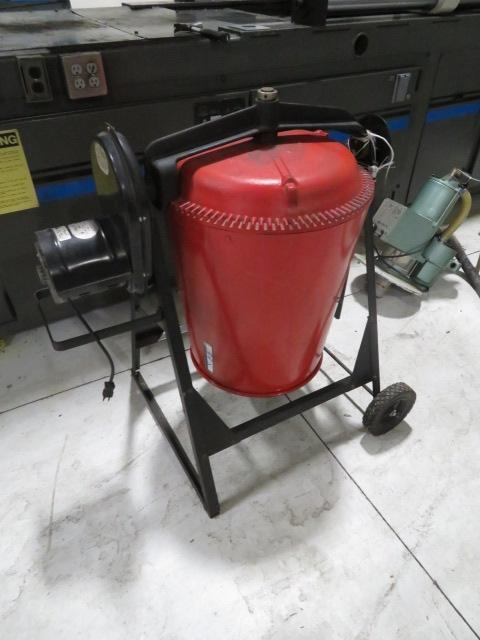 Used Material Mixer, 110V