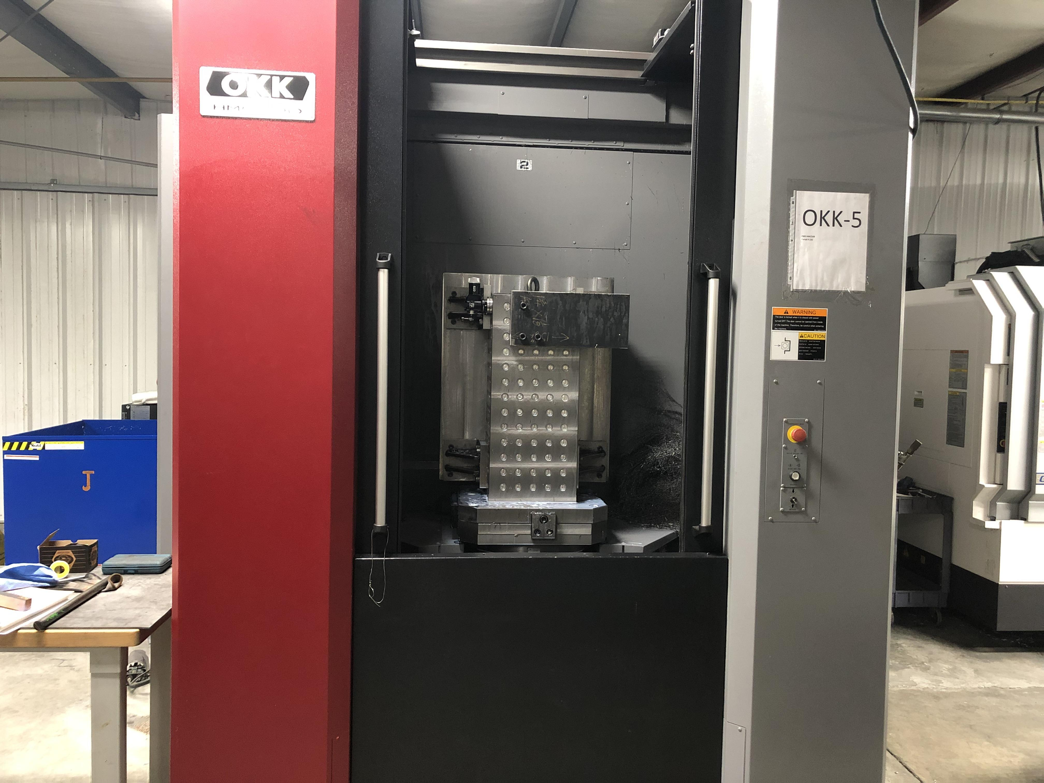 2017 OKK HMC 500 - Horizontal Machining Center