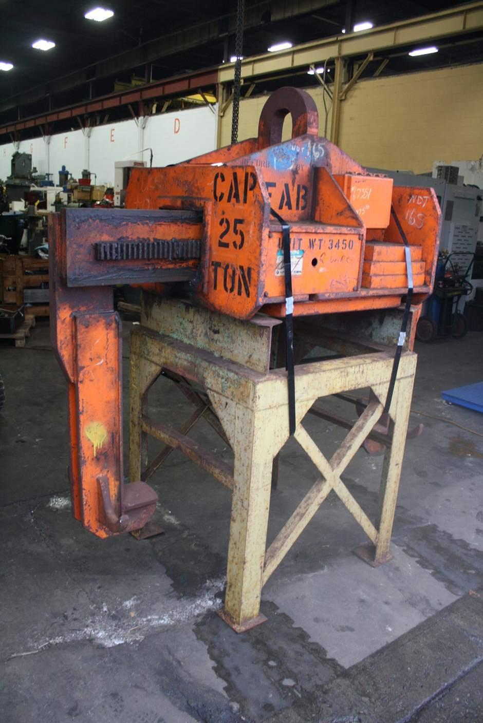 25 TON X 60' BUSHMAN TELESCOPING COIL LIFTER: STOCK #67351