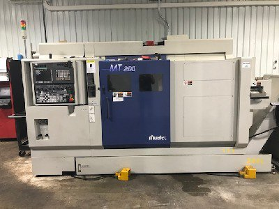 2015 MURATEC MT200/T2 TWIN OPPOSED SPINDLE CNC TURNING MACHINE