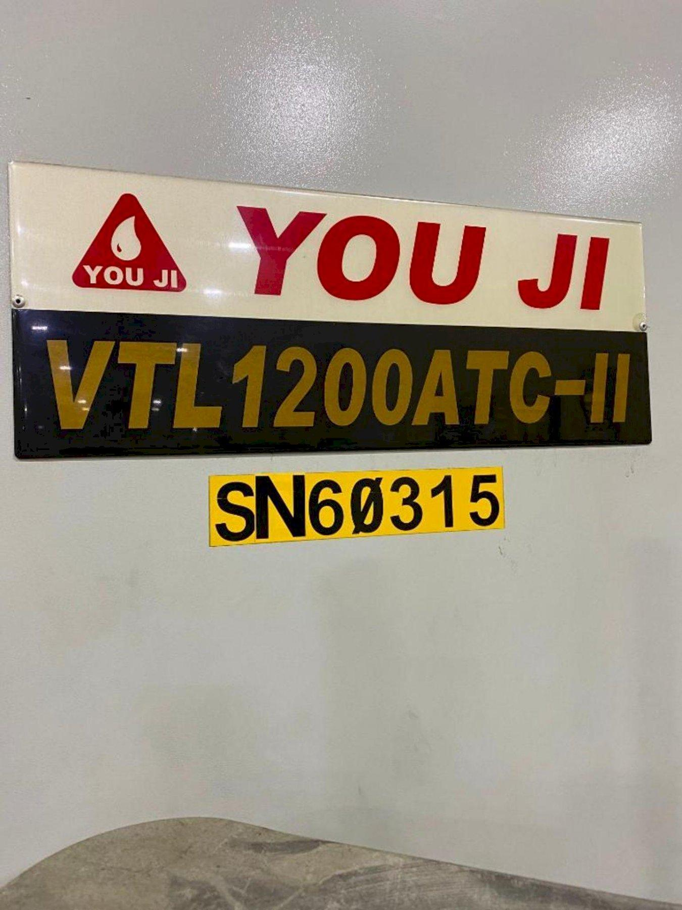 You Ji VTL1200 ATC-II CNC Vertical Lathe