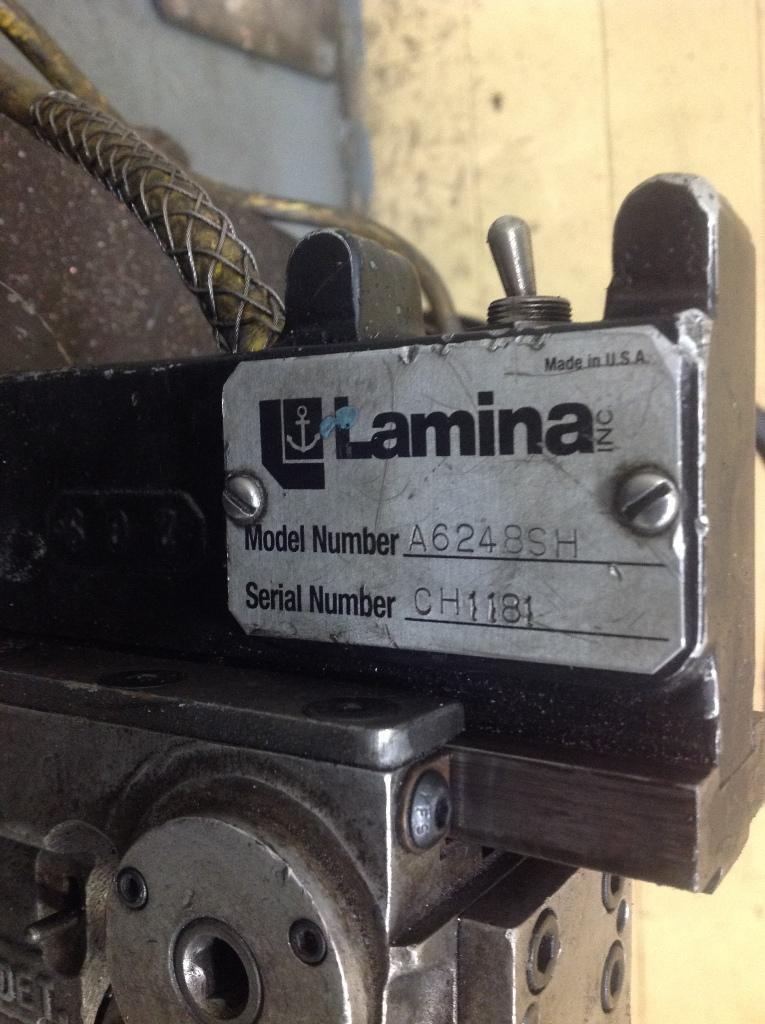 LAMINA DRILL PORTABLE MAGNETIC DRILLING & TAPPING MACHINE: STOCK 65532
