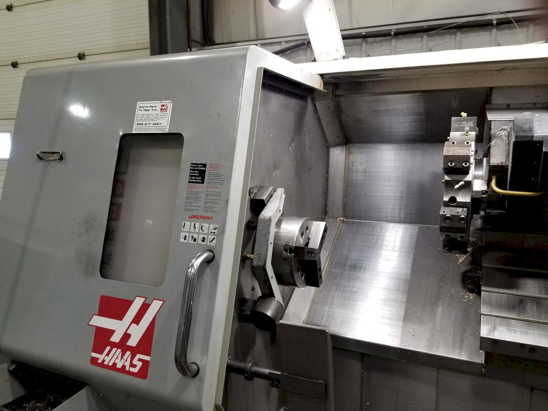 Haas TL-25 CNC Lathe with Sub Spindle and Live Tooling