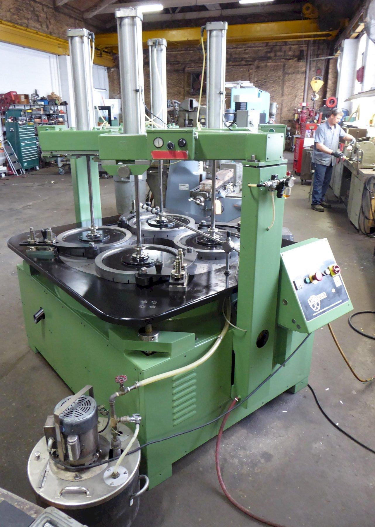 48″ Lapmaster Lapping Machine No. 48C, (4) Rings, Open Face, 10 HP, Clean