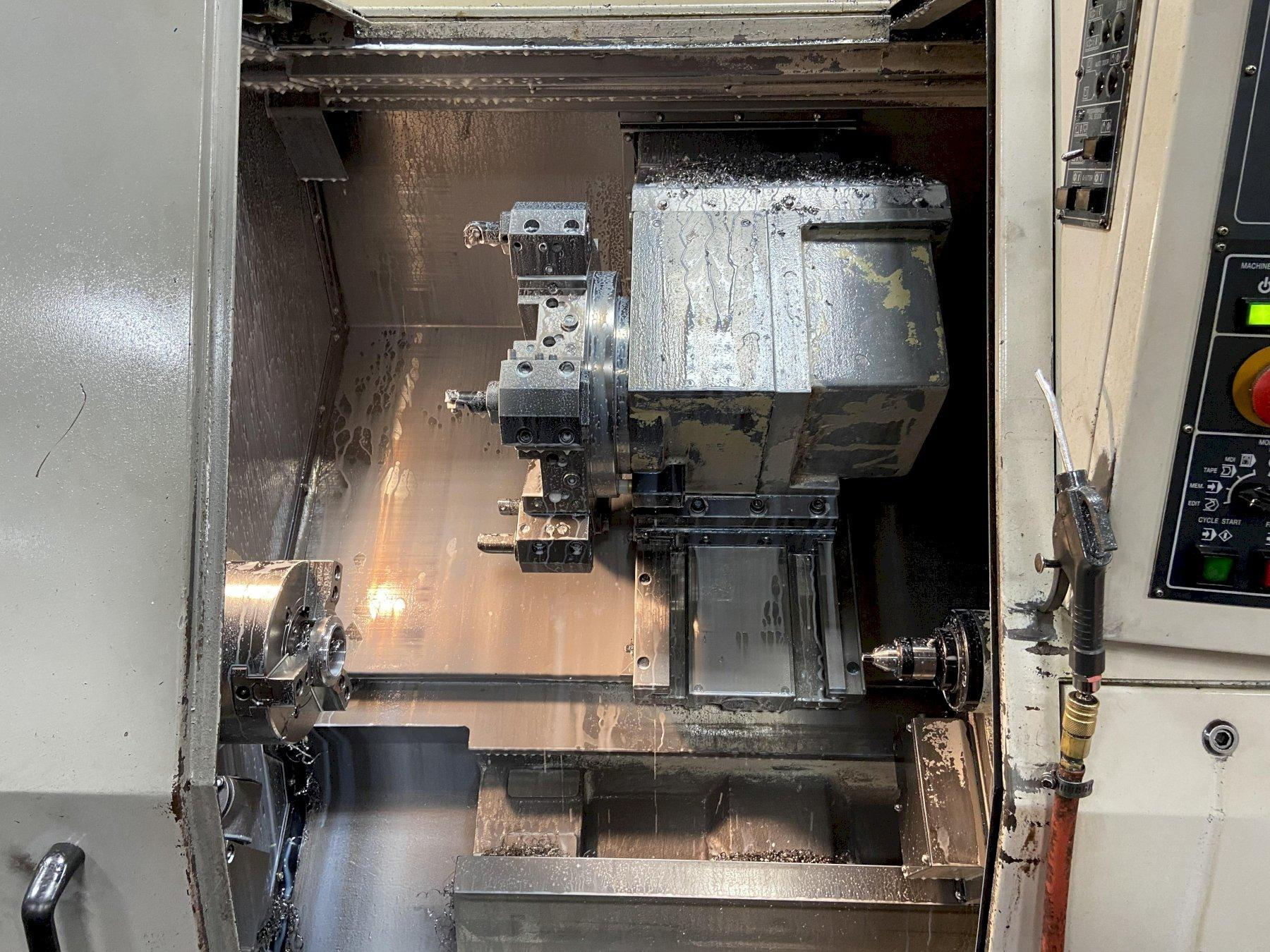 "DAEWOO 200 LC CNC LATHE, 8"" CHUCK,"