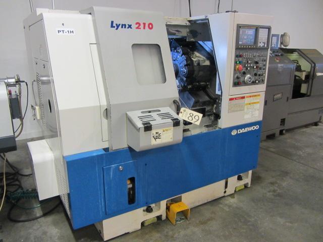 DAEWOO LYNX 210A CNC TURNING CENTER 2003