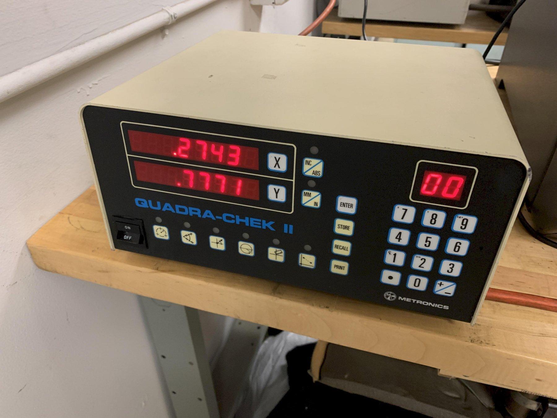"12"" NIKON Model V12 Bench Top Vertical Beam Optical Comparator / Profile Projector, S/N Pending."