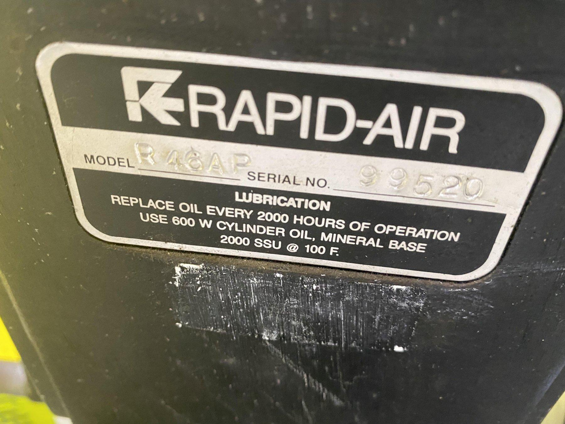"250 LBS X 6"" RAPID AIR MODEL #R46AP COIL REEL UNCOILER: STOCK #15441"